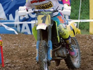 Jacky Martens, runner up in 1994