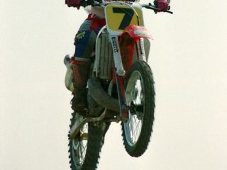 Nilsson started the season by winning the GP of Hawkstone Park