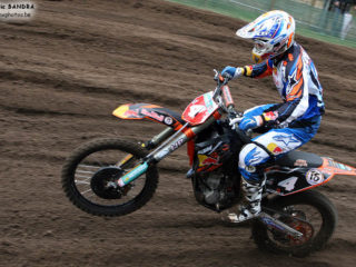 Tyla Rattray had a good points lead before the final GP