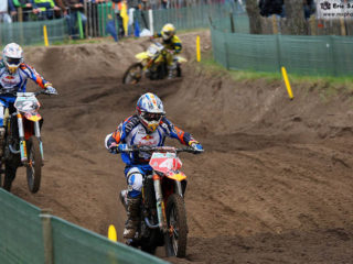 Tyla Rattray and Tommy Searle had a season long battle