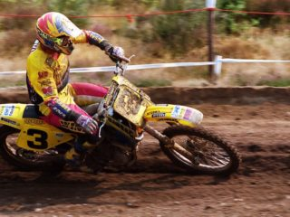 Joel Smets, the 1995 500cc world champion