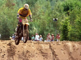 Smets on the Husaberg