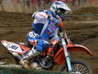 Seb Tortelli won the first moto of the year