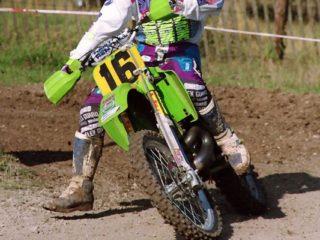Ronny Weustenraed, winner of 2 motos