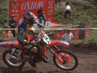Colin Dugmore, just once 5th in a moto but still 6th overall in points