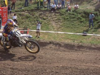 Malin finished runner up, but could only win one moto