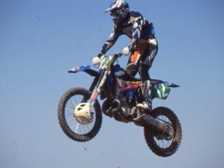 Yves Demaria, best Yamaha rider in '96