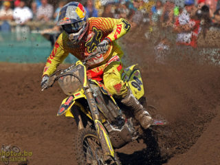 Ken Roczen came close but ended up in 2nd