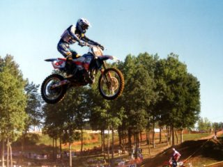 Mickael Maschio won a moto on his way to 6th overall