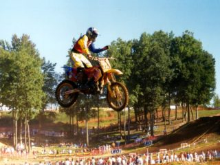 Michael Pichon made his return to GP's in '99