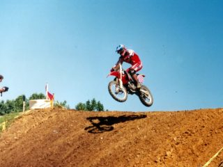 He was the sole GP rider who impressed in Budds Creek with a 2-6 finish