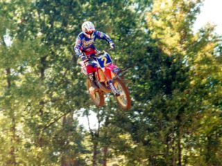 Stefan Everts raced just a few GP's at seasons end